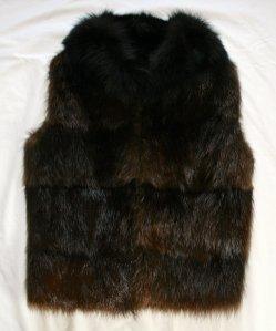 Beaver Fur Vest