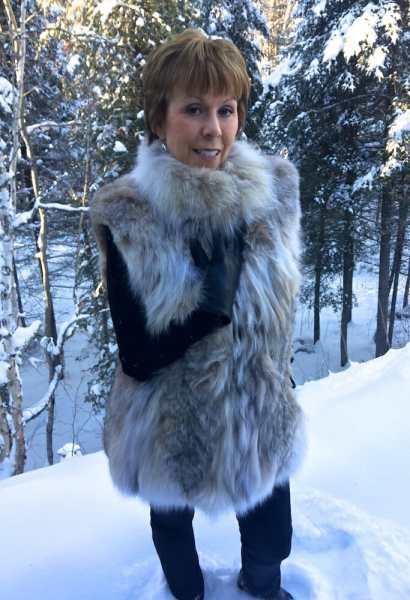 Canadian Lynx Fur Vest