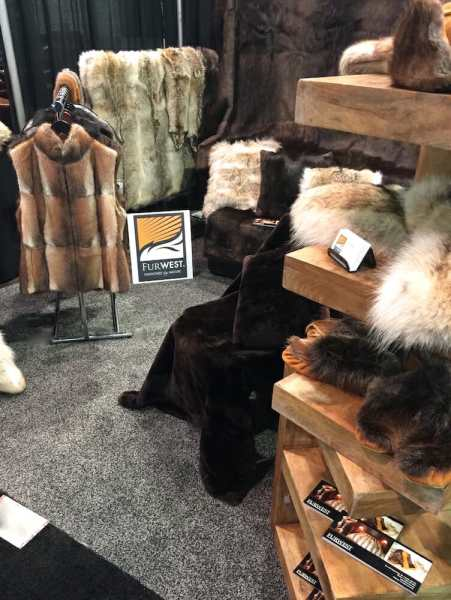 Wild Fur - Convention Booth Display