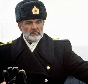 Sean Connery in The Hunt for Red October