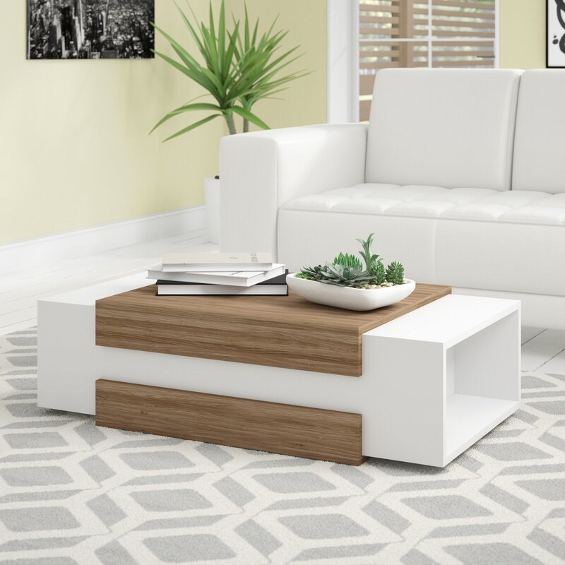 brian 2 face super hot center table with side end storage