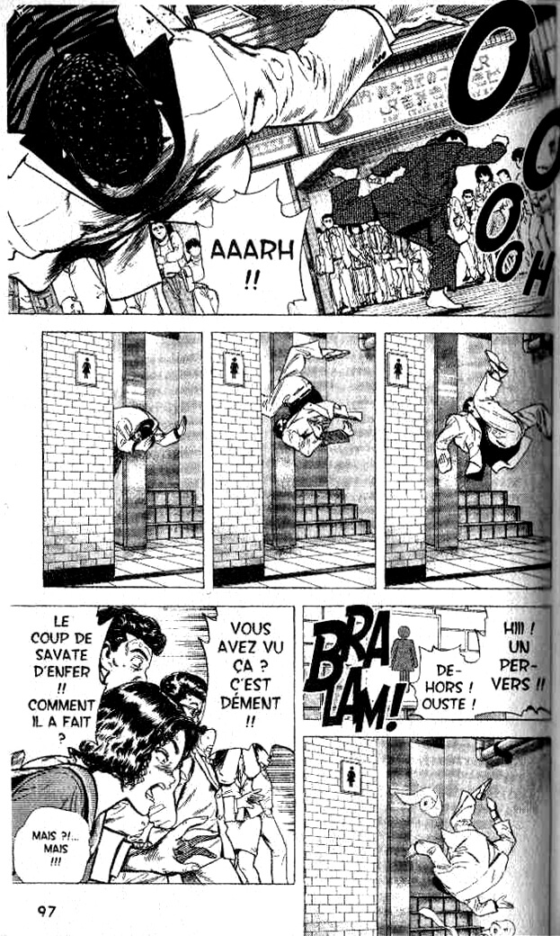 Racaille Blues Manga Extraits 06