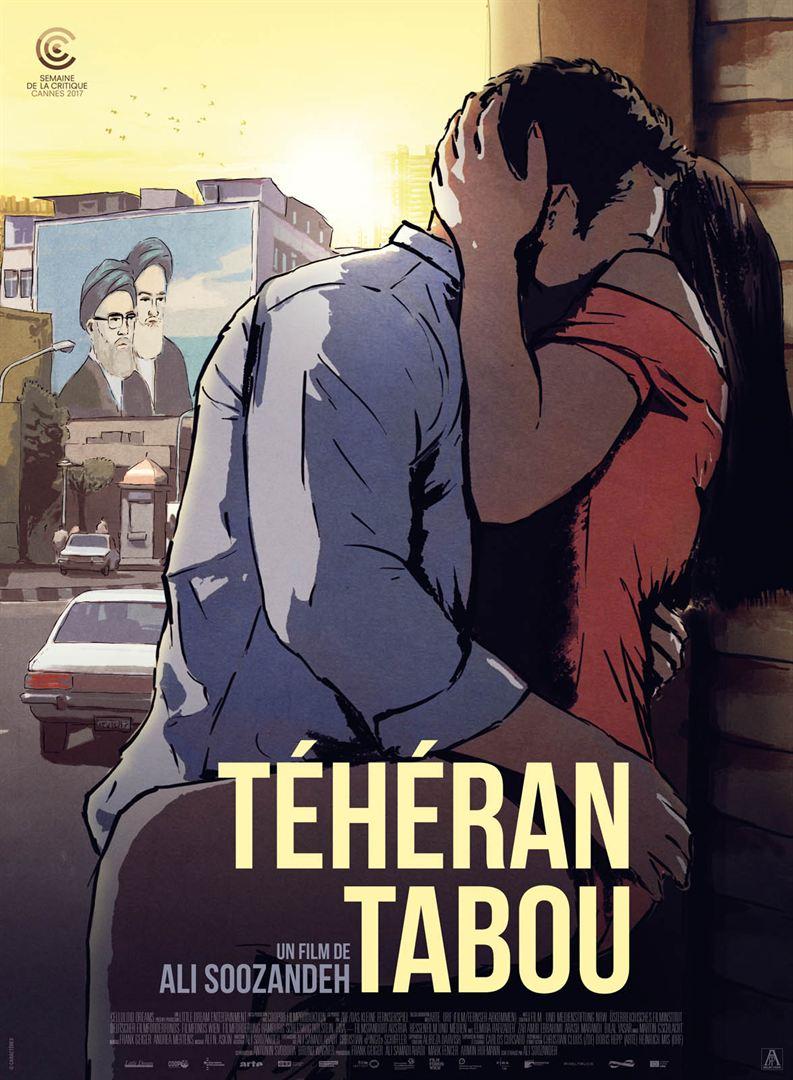 Teheran tabou affiche furyosa