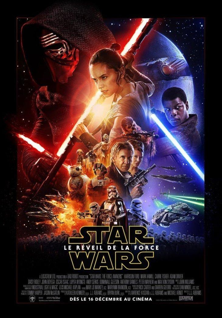affiche de Star Wars Le Réveil de la Force