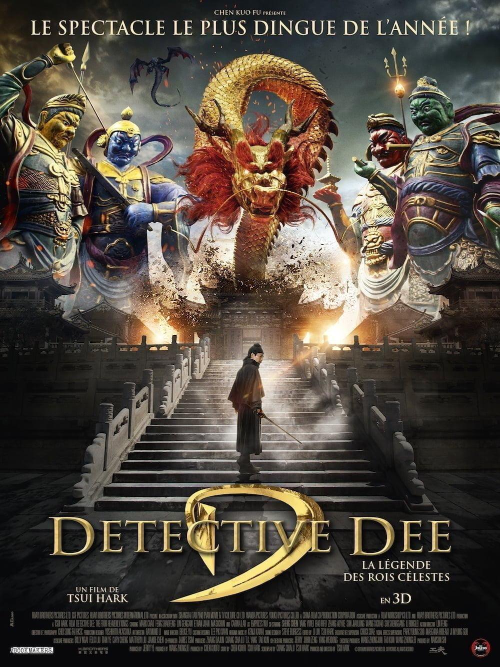 Detective Dee la legende des rois celestes affiche furyosa