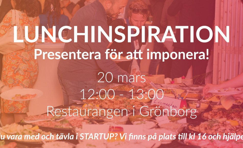 Lunchinspiration med Venture Cup – 20 mars