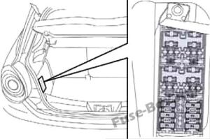 Fuse Box Diagram > Alfa Romeo MiTo (20142018)