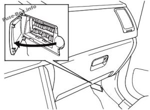 Fuse Box Diagram > Honda Pilot (20032008)