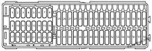 Fuse Box Diagram > Volkswagen Caddy (2k; 20032010)