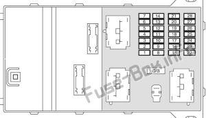 Fuse Box Diagram > Mercury Milan (20062011)