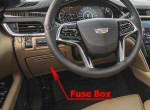 Fuse Box Diagram > Cadillac XTS (2019)