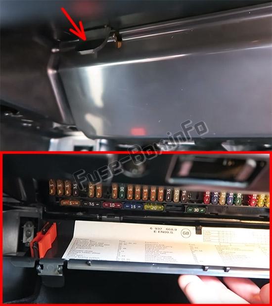2004 bmw x5 fuse box location  description wiring diagrams
