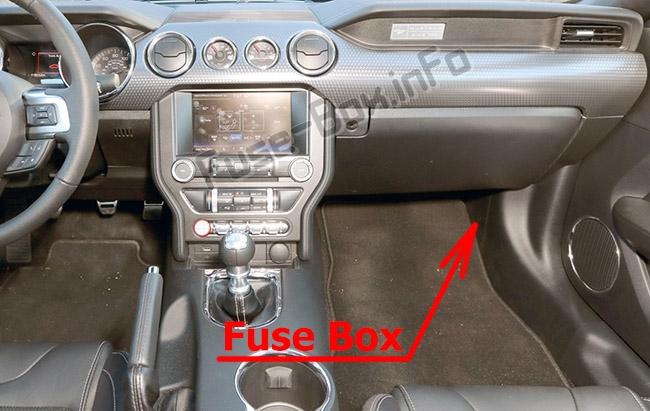 fuse box diagram ford mustang 2015 2019