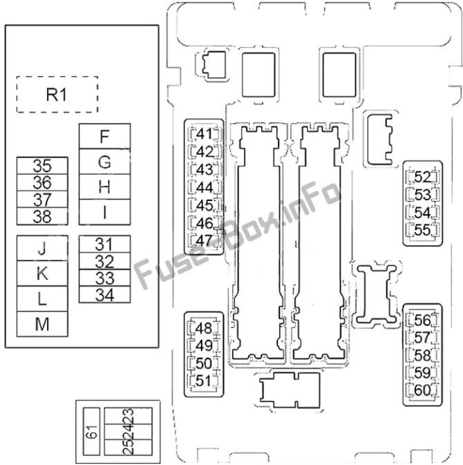 nissan murano fuse box  05 ford e 350 fuse panel diagram