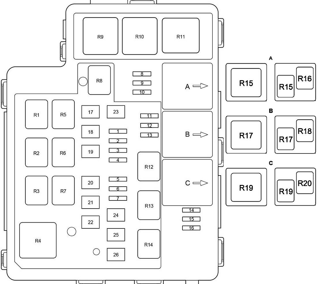 Toyota Rav4 Xa40 Fuse Diagram Fusecheck