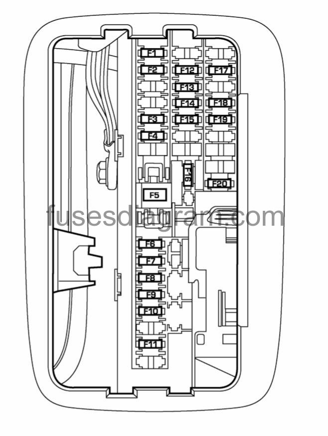 2007 Dodge Dakota Interior Fuse Box | Decoratingspecial