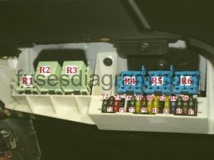 Fuse box BMW X5 E53