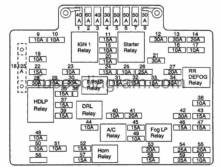 Diagram Gm Relay Diagram