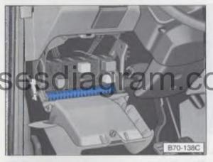 Fuse box Volkswagen Transporter T4