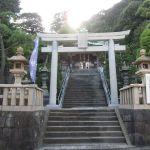 叶神社の鳥居