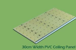 30cm Series PVC Wall Panels