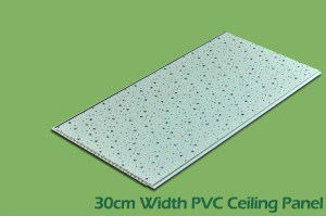 30cm Width Series PVC Ceiling and Wall Panels