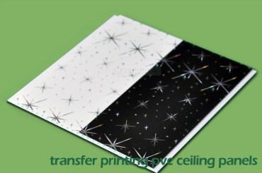Transfer Printing PVC Wall Panels