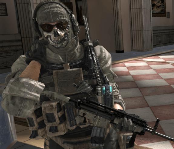 Modern Warfare 3 Ghost