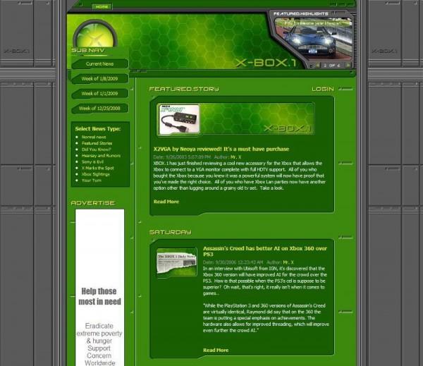 Xbox One Website