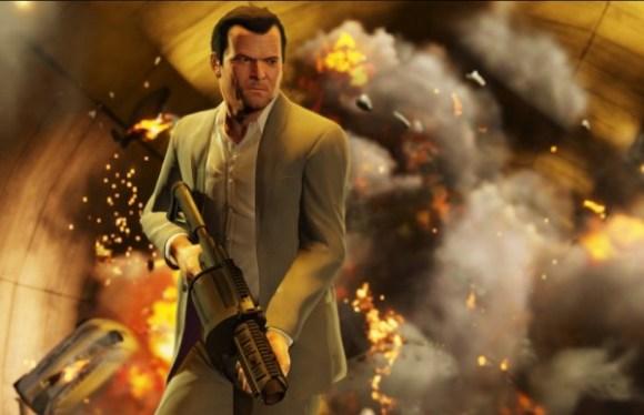 Grand Theft Auto V screen