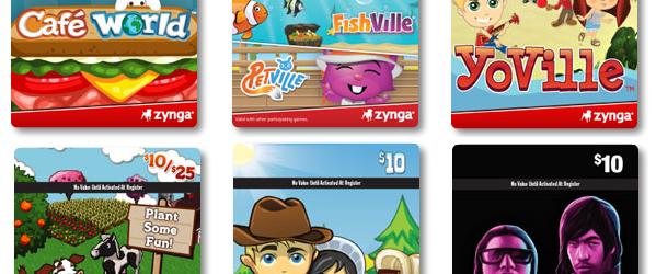 Zynga Gift Cards