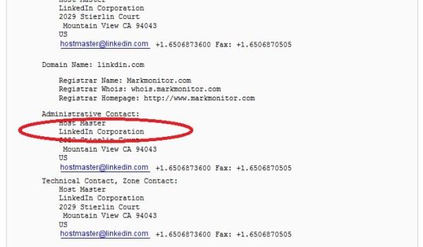 Linkdin.com cyber squatter throws away $22K, domain now belongs to LinkedIn