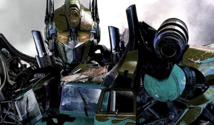 Nightwatch Optimus Prime [via Deviant Art: Art-Master-1983]