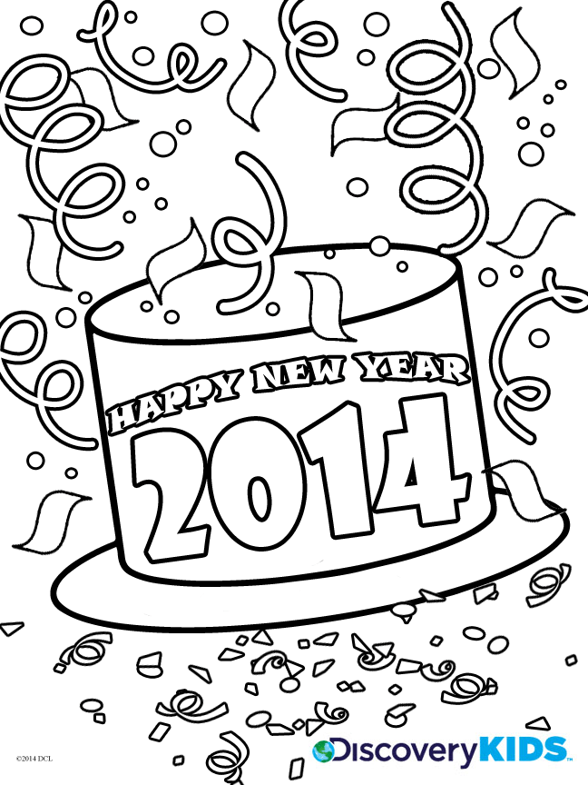 drawing on happy new year