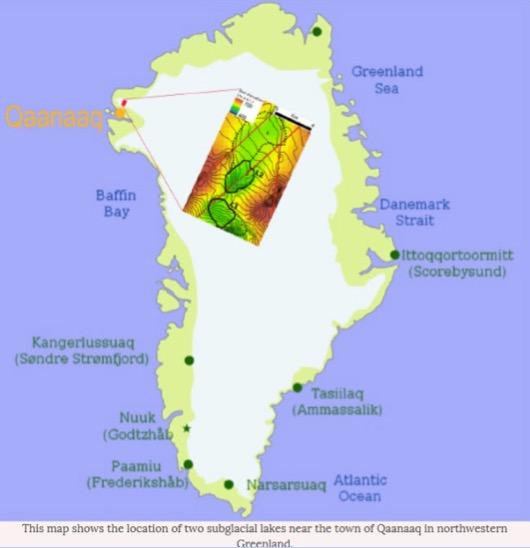 subglacial lakes