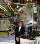 Tom Tamarkin at Las Alamos national Labs PJMIF experimental laboratory