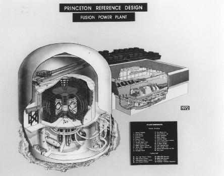 Westinghouse-Princeton reactor design
