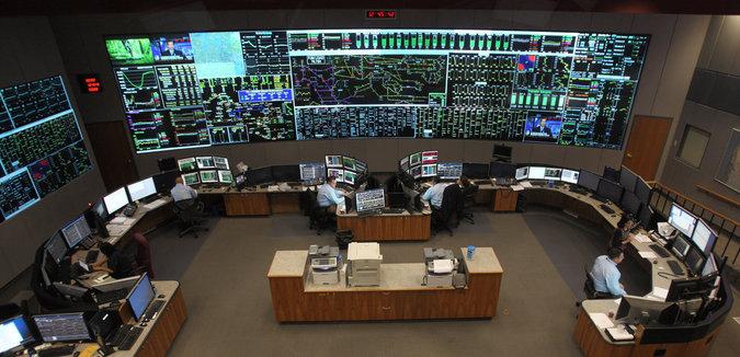 PJM control room