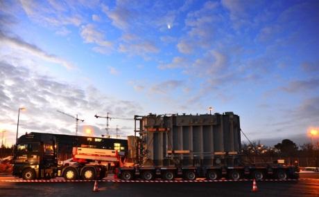 ITER transformer arrival
