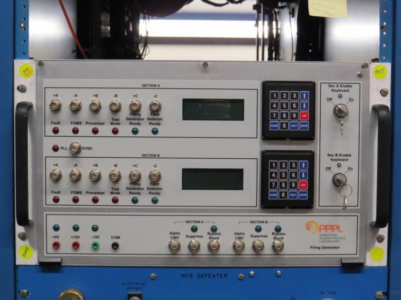 NSTX radio firing generators