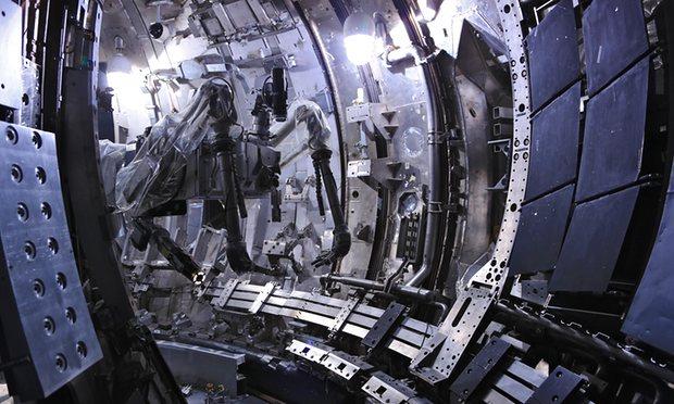 Nuclear fusion reactor simulator