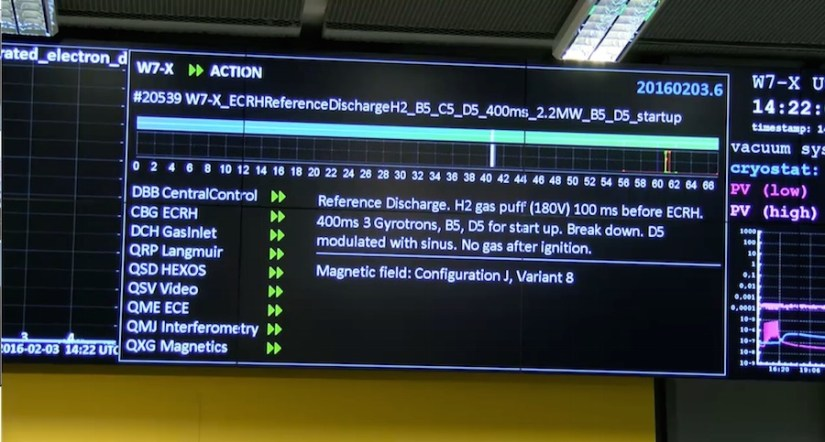 The monitor shows the countdown and status of the reactor. All images: MPI / Screenshot Motherboard.