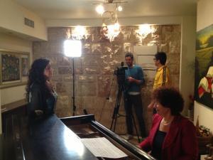 Behind the scenes of Hatikvah