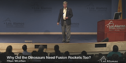 Why Did the Dinosaurs Need Fusion Rockets Too?