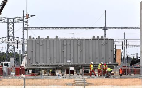 Iter transformer in place as materials tests continue