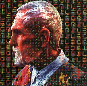 LSD Blotter Art - Timothy Leary