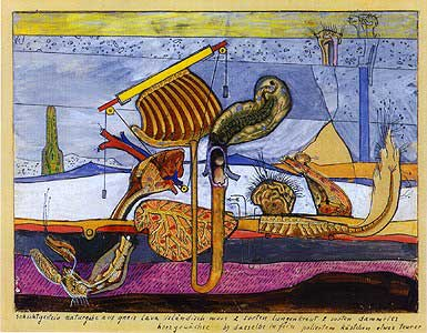 Icelandic Moss - by Max Ernst
