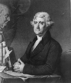 Thomas Jefferson and his books