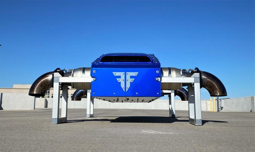 FusionFlight Jet-Powered VTOL Drones