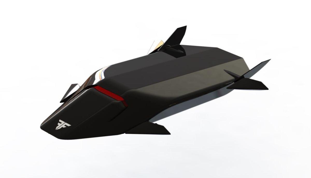 Tachyon - Supersonic Quad turbine VTOL Drone